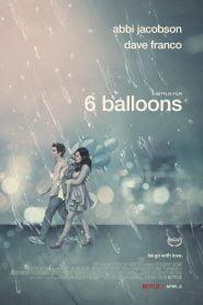6 globos / 6 Balloons